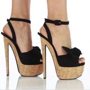 Giuseppe Zanotti Denny Black Heel Size 36